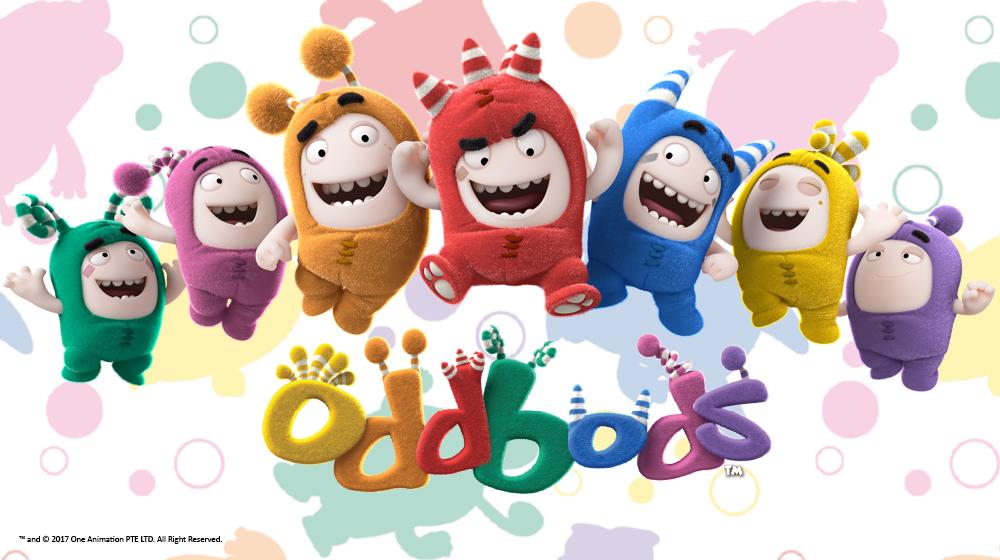 Oddbods Licensing Italia