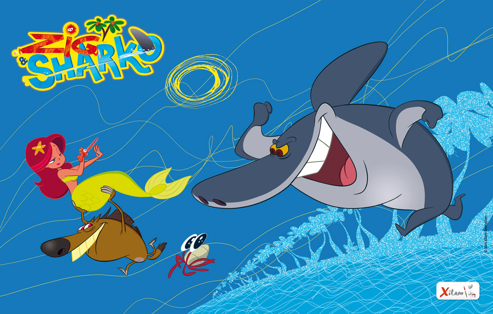 Zig sharko licensing italia for Zig e sharko italiano