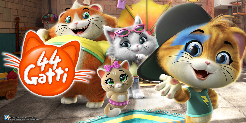 Gatti da novembre in prima tv assoluta su rai yoyo