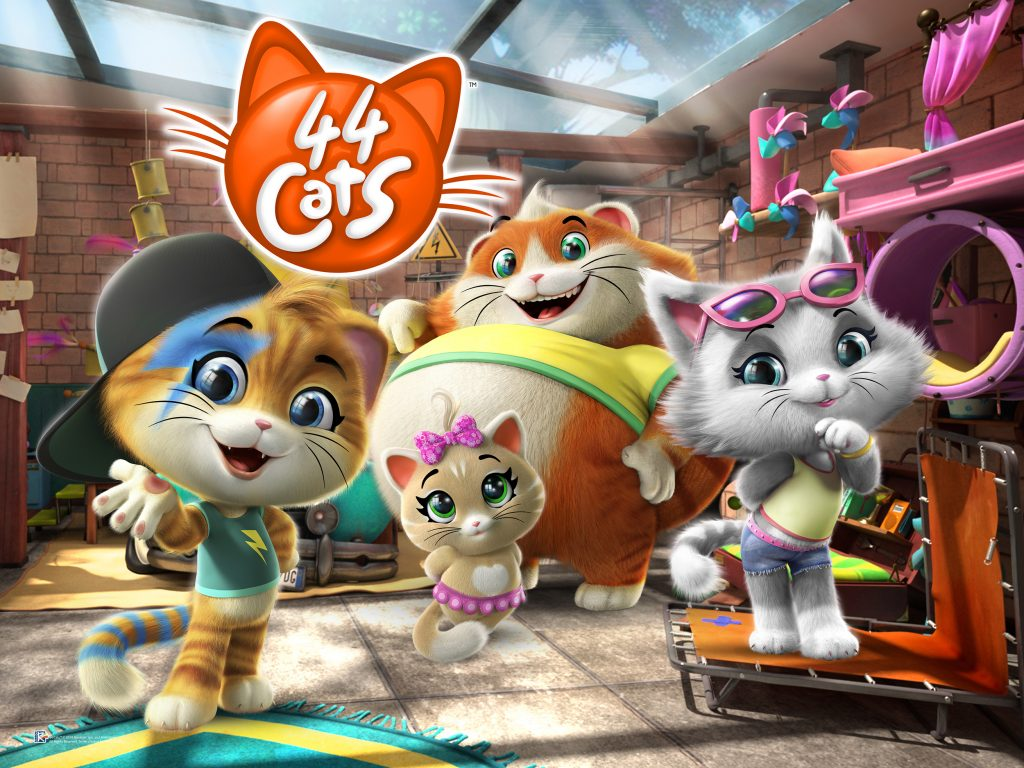 Rainbow and Clan RTVE Together for 44 Cats - Licensing Italia